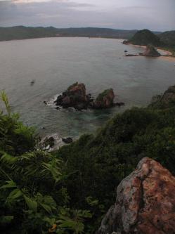 view dari bukit sengger