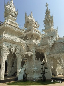 Another side in white temple