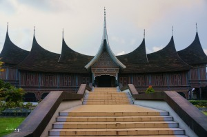 Minangkabau Traditional house, padang