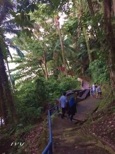 stair in Gunung Padang, west Sumatera