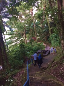 stair in Gunung Padang, west Sumatera